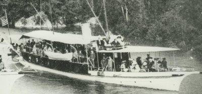CAPTAIN VISGER (1895, Yacht)
