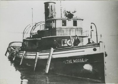 THE MOOSE (1907, Tug (Towboat))