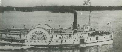 SPARTAN (1864, Steamer)