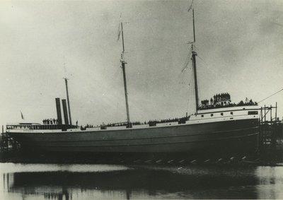 SPOKANE (1886, Bulk Freighter)