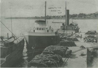 SPALDING JESSE (1899, Bulk Freighter)