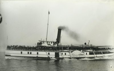 GARDEN CITY (1892, Steamer)