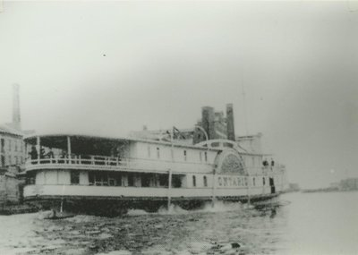 FLOWER CITY (1879, Steamer)