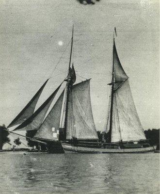 SPAULDING, J.M. (1875, Scow Schooner)
