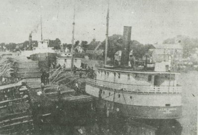 SMITH, LILLIE (1888, Steambarge)