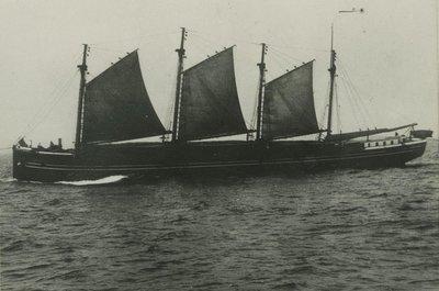 BOURKE, MARY N. (1889, Schooner-barge)