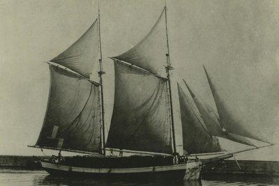 CARTER,  LIBBIE (1882, Scow Schooner)