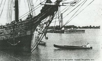 DAY, ELIZA (1869, Schooner)