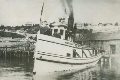 SAUGATUCK (1875, Tug (Towboat))