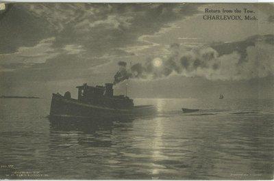 TAYLOR, J. V. (1882, Tug (Towboat))