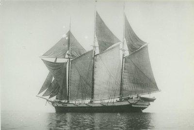 WESCOTT, G.W. (1863, Schooner)