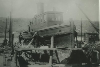 WEST NEEBISH (1909, Tug (Towboat))