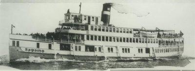SAGAMO (1906, Passenger Steamer)