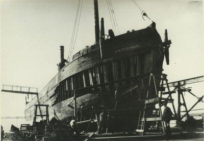 SHERMAN, WALTER A. (1882, Schooner-barge)