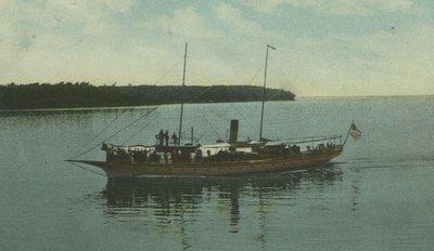 BONITA (1892, Yacht)