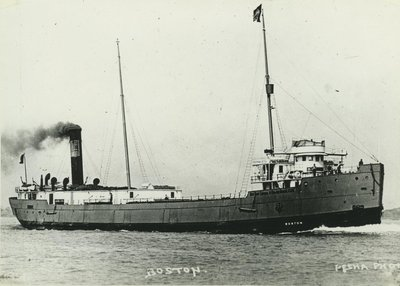 BOSTON (1913, Package Freighter)