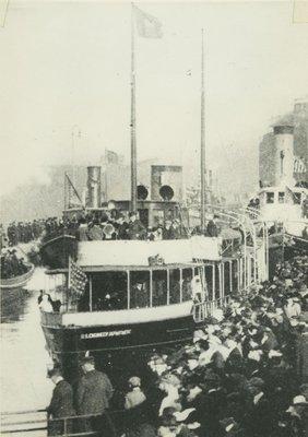 CAROLINE (1909, Yacht)