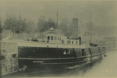 FISCHER, S. M. (1896, Tug (Towboat))