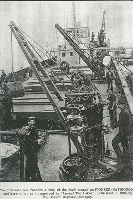PIONEER (1892, Bulk Freighter)