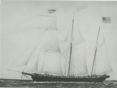 SOVEREIGN OF THE LAKES (1853, Barkentine)