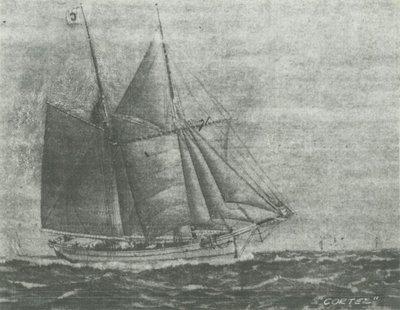 CORTEZ (1866, Schooner)