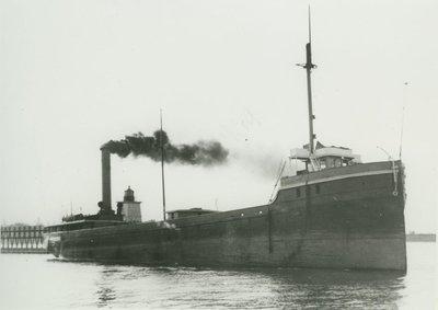 IRON AGE (1880, Bulk Freighter)