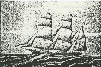 ST. CLAIR (1865, Bark)