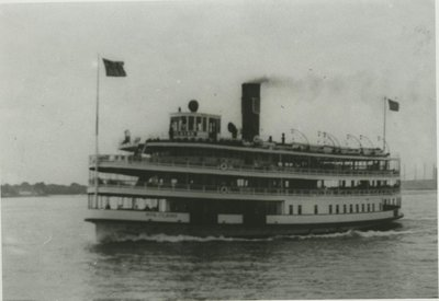 STE. CLAIRE (1910, Excursion Vessel)