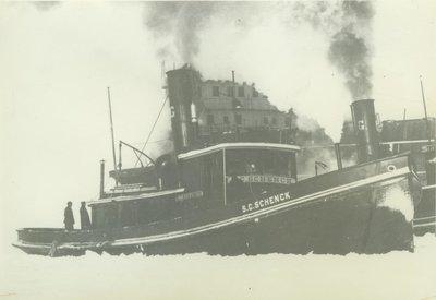 SCHENCK, S. C. (1890, Tug (Towboat))