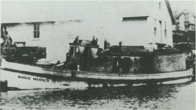 WARREN, MINNIE (1869, Tug (Towboat))