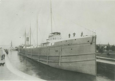 WEED, EMILY P. (1890, Bulk Freighter)