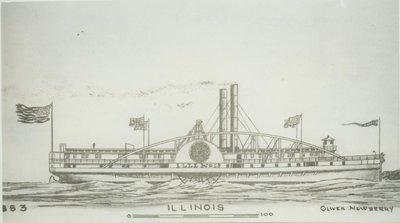 ILLINOIS (1853, Steamer)