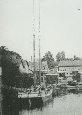 IRVING, GEORGE (1865, Scow Schooner)