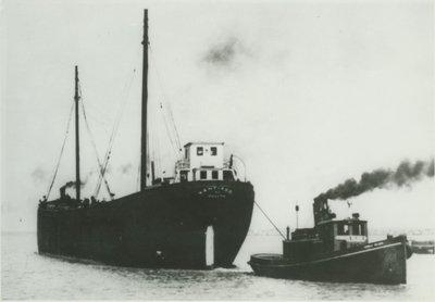 SANTIAGO (1899, Schooner-barge)