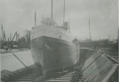 BERMUDA (1897, Bulk Freighter)