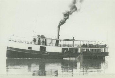WESTON, I. M. (1883, Steambarge)