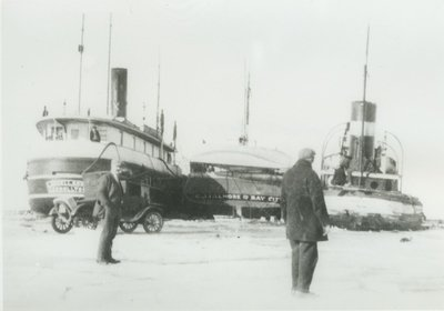 LANGELL BOYS (1890, Steambarge)