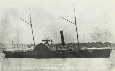 FESSENDEN, USRC WM. PITT (1865, Revenue Cutter)