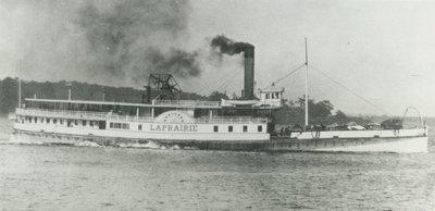 LAPRAIRIE (1867, Steamer)
