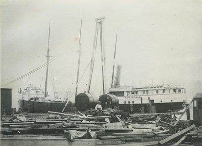 LINDSAY, A.G. (1889, Steambarge)