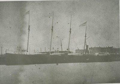 FEDORA (1889, Bulk Freighter)