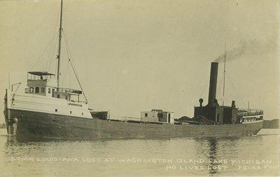 LOUISIANA (1887, Bulk Freighter)