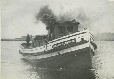 LUDINGTON, HARRISON (1890, Tug (Towboat))