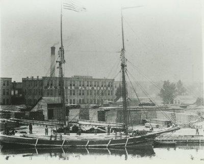 LYDIA (1873, Schooner)
