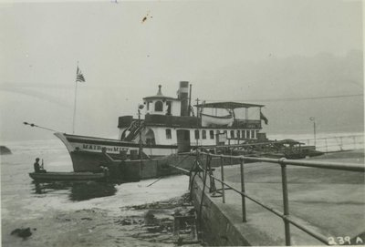 MAID OF THE MIST (1885, Excursion Vessel)
