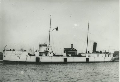SCHUYLKILL (1892, Package Freighter)