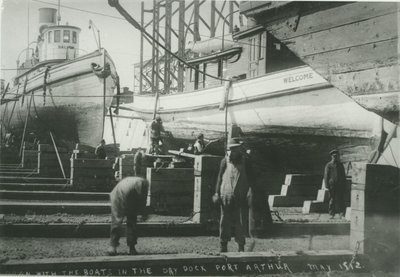 WELCOME (1886, Fish Tug)