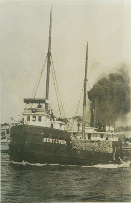 WENTE, ROBERT C. (1888, Steambarge)