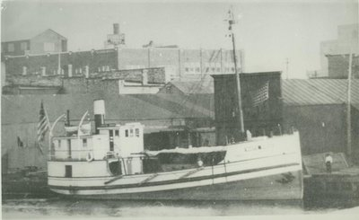 WHITE SWAN (1922, Steambarge)