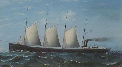 CUMBERLAND (1881, Bulk Freighter)